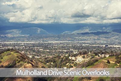 Mulholland Drive Scenic Overlooks
